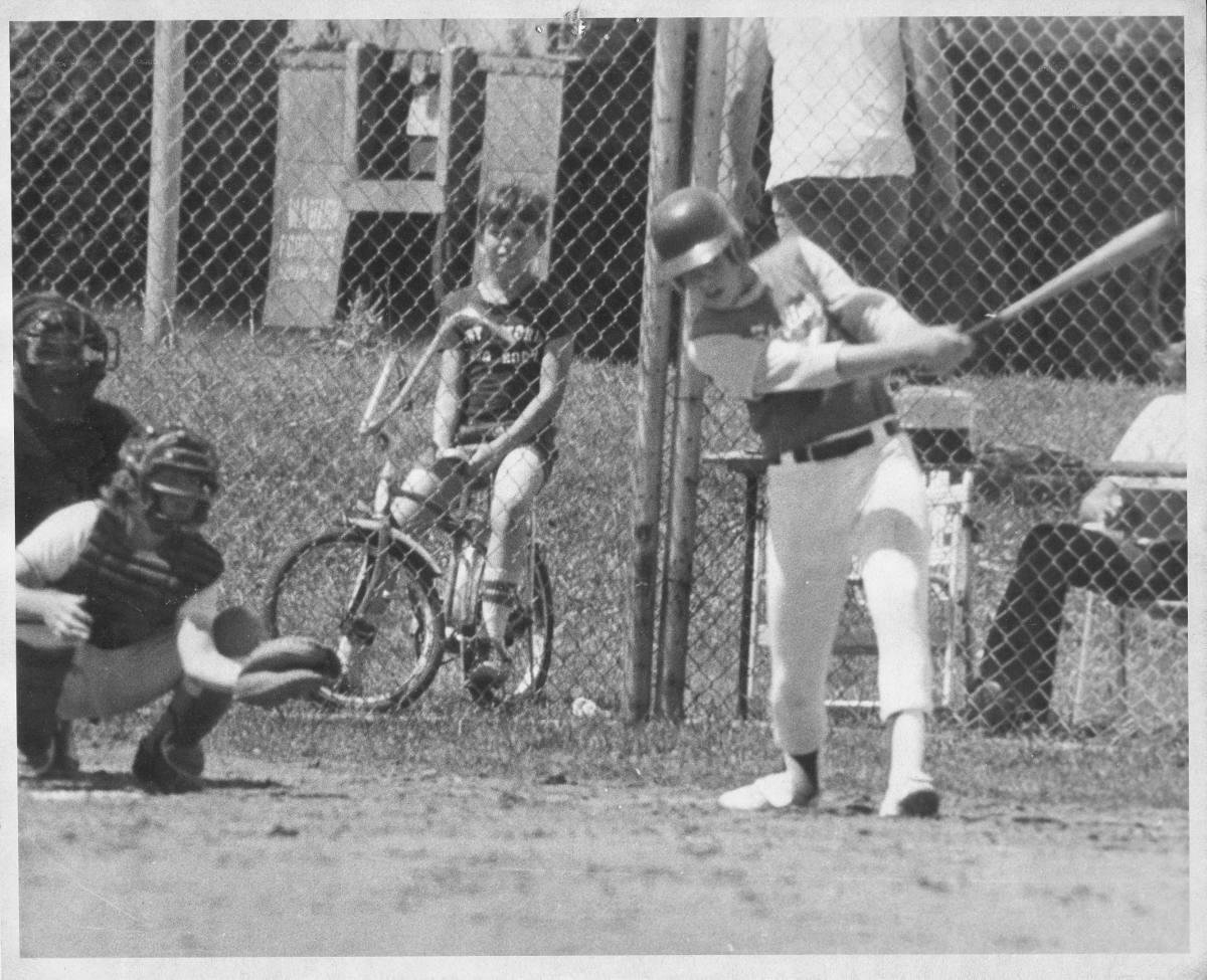 1974 Marty Baseball _BW